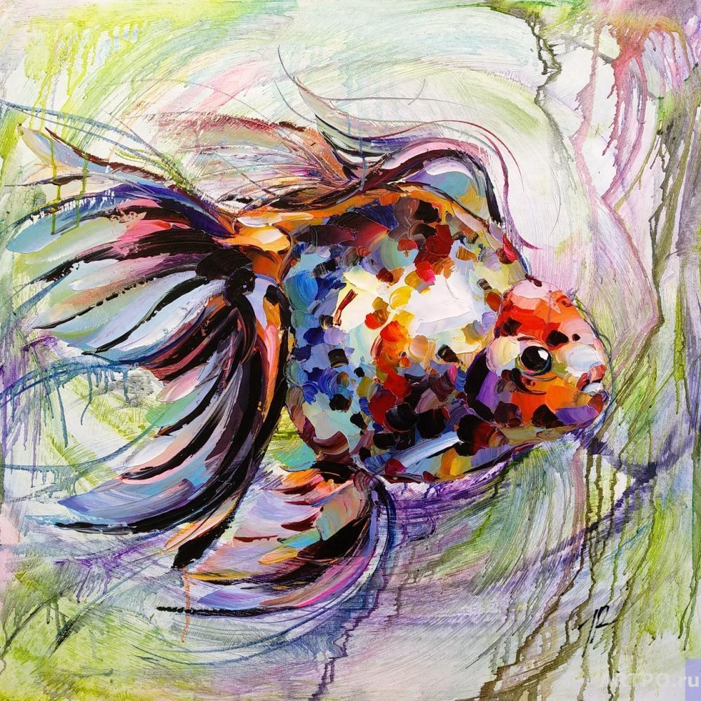 Rodriguez José. Goldfish for the fulfillment of desires. N3