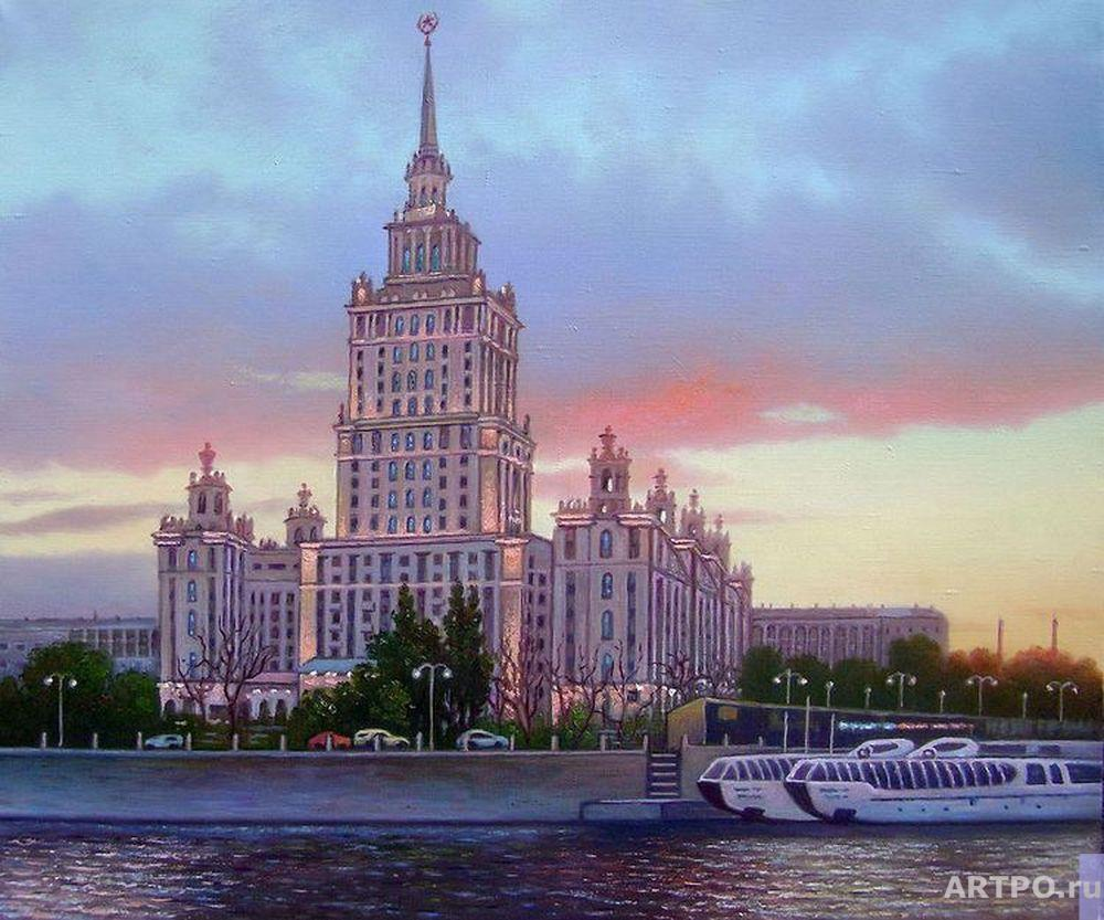 Kulagin Oleg. Moscow. Stalin's high-rise on The Shevchenko embankment.