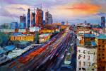 Moscow-City. Megapolis in motion
