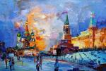Moscow. Walking on Red Square