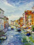 Venice Canal. Bright noon