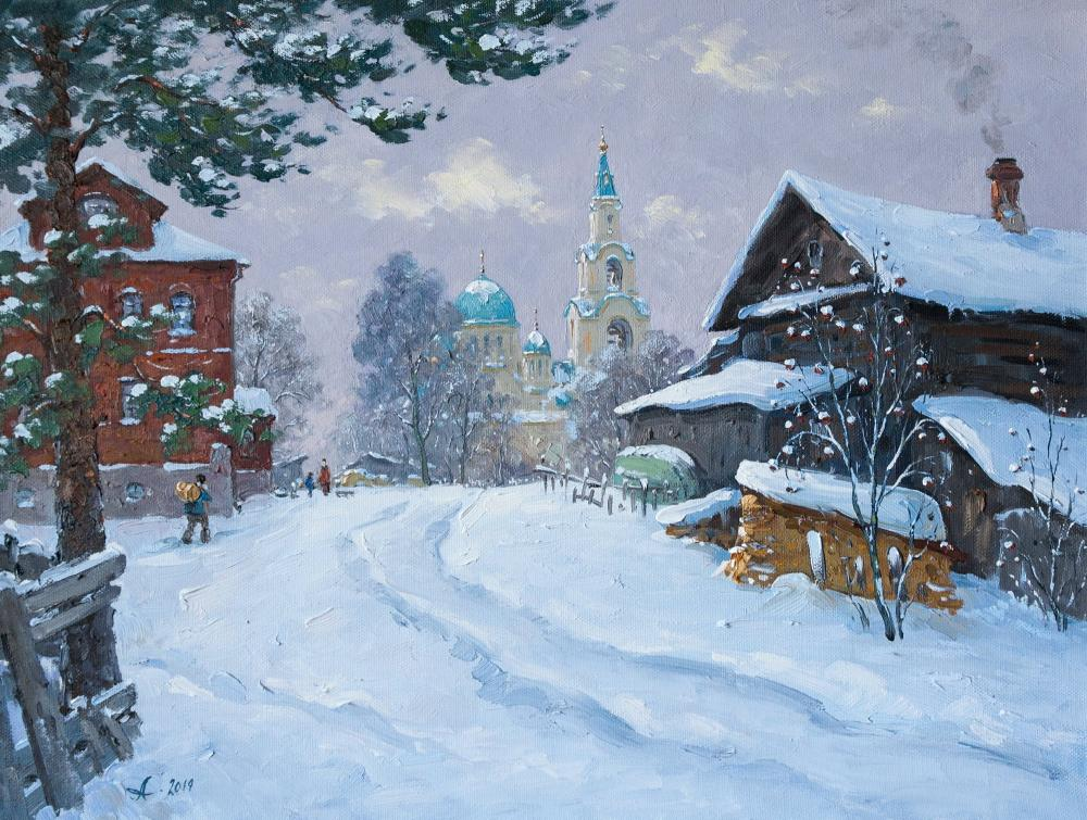 Alexandrovsky Alexander. Winter on Valaam