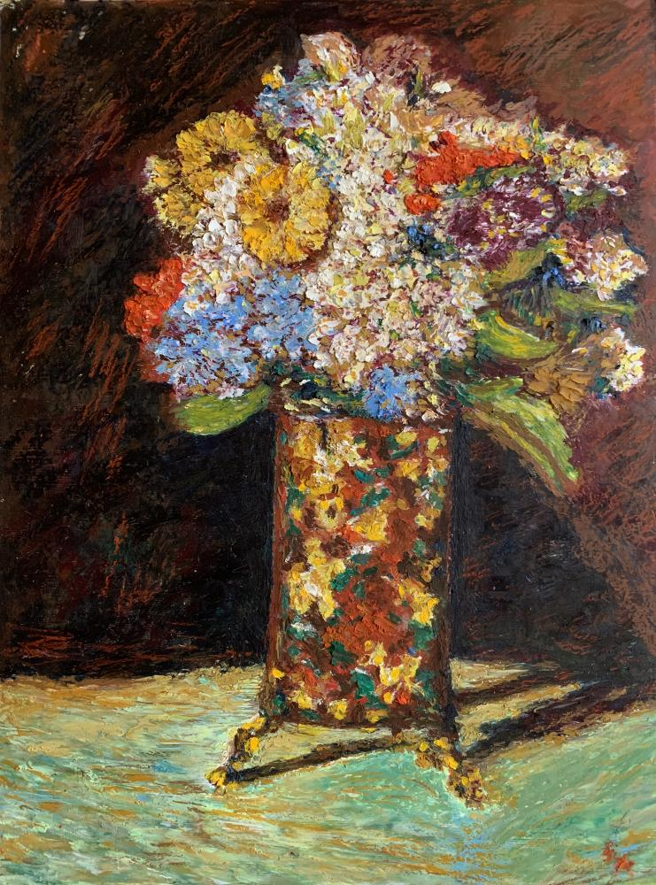 Safiullin Albert. Vase with Flowers