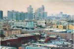 Such a different Moscow. Bird's-eye view of Moscow City