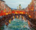 St. Petersburg. After the rain