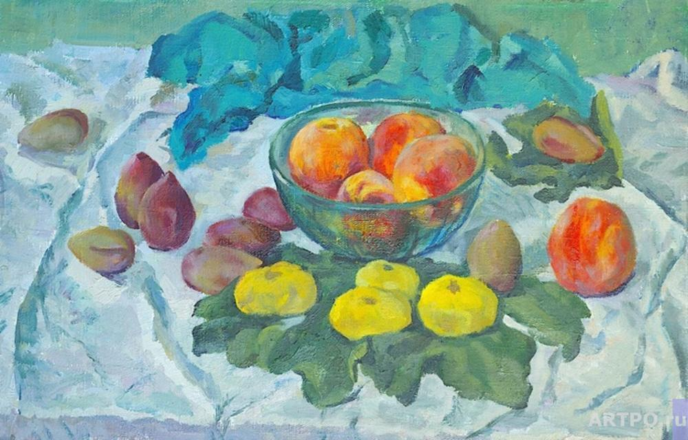 Li Moesey. Peaches with figs