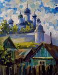 View of the Goritsky monastery