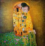 Kiss.copy of G. Klimt