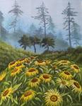 """""""Flowers in a misty forest"""""""