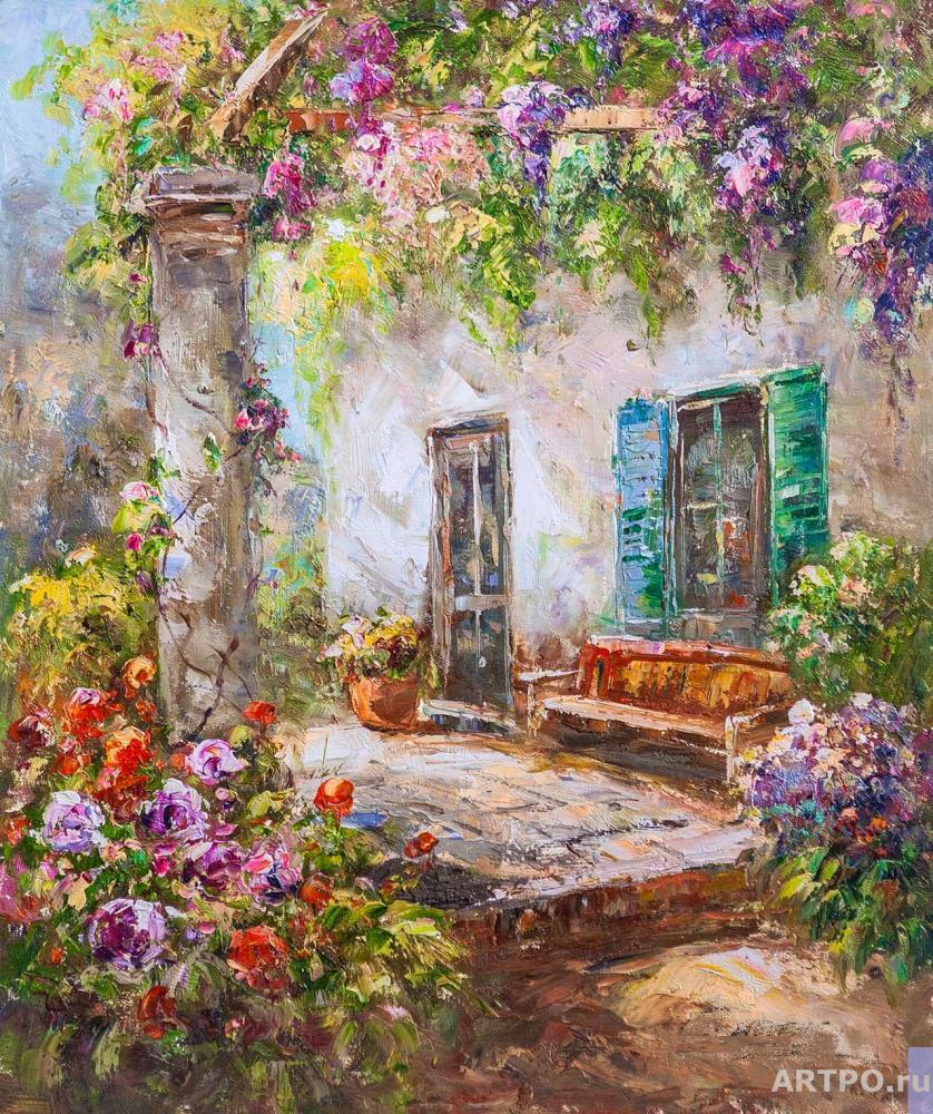 Vlodarchyk Andjey. In the thickets of wisteria