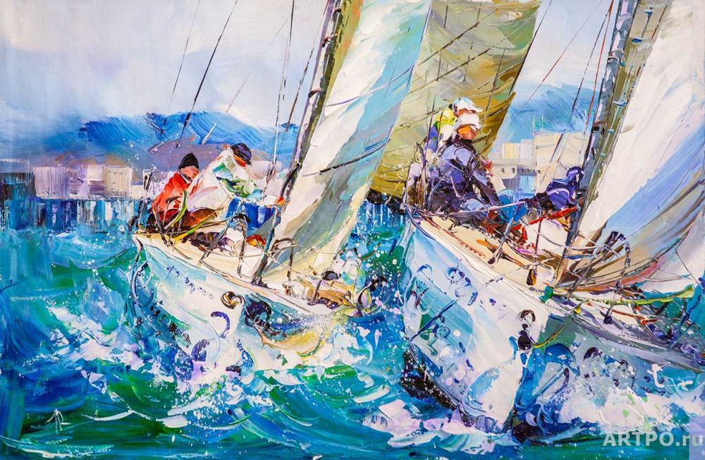 Rodriguez José. Regatta. Towards victory N2
