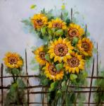 Still life with sunflowers N2