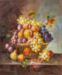 Still life with fruit in the Baroque style N3