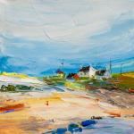 Beach stories. Dunes and houses