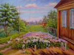 June day in the village
