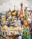 Golden-domed Moscow. In the spiritual heart of the capital